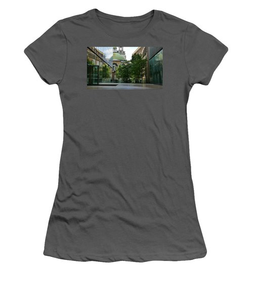 Old And New Buildings In London Women's T-Shirt (Athletic Fit)