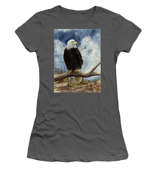 Old Baldy Women's T-Shirt (Athletic Fit)