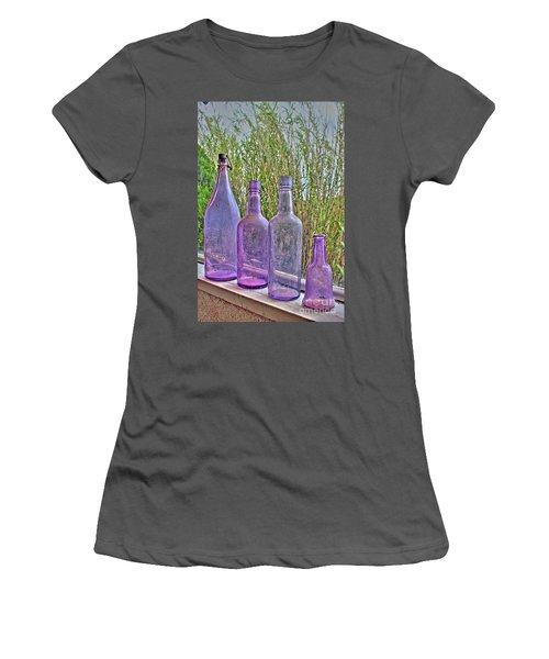 Old Bottle Collection Women's T-Shirt (Athletic Fit)