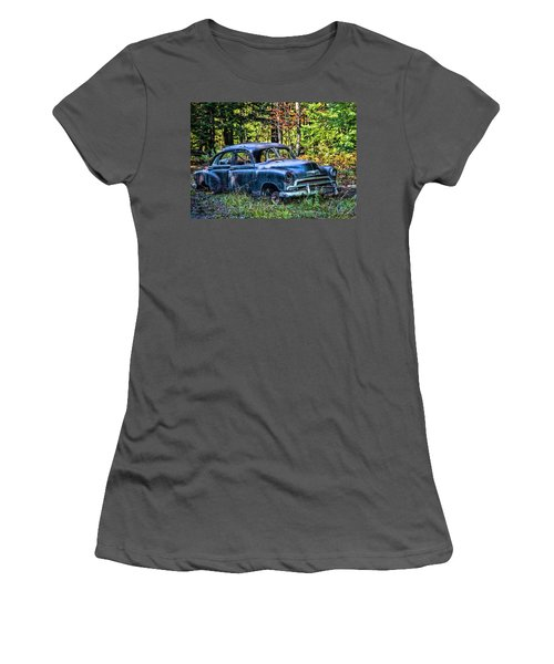Old Car Women's T-Shirt (Junior Cut) by Alana Ranney