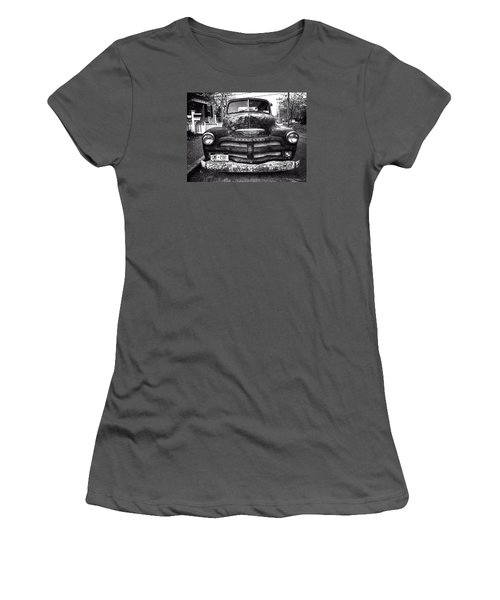 Old Chevy 2 Women's T-Shirt (Athletic Fit)