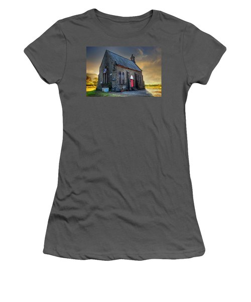 Old Church Women's T-Shirt (Junior Cut)