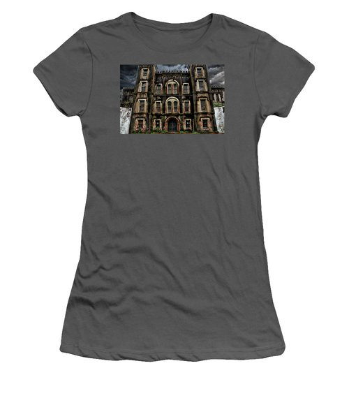 Old City Jail Women's T-Shirt (Athletic Fit)