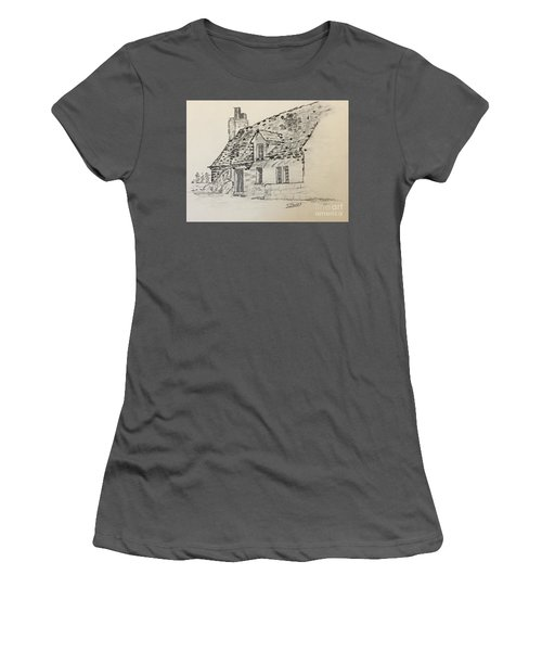 Old Cottage Women's T-Shirt (Athletic Fit)