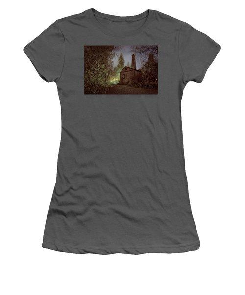 Old Factory Ruins Women's T-Shirt (Junior Cut) by Teemu Tretjakov