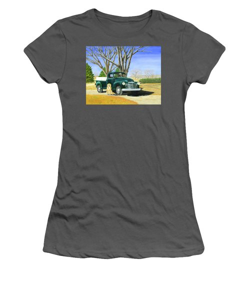 Old Farmhands Women's T-Shirt (Athletic Fit)