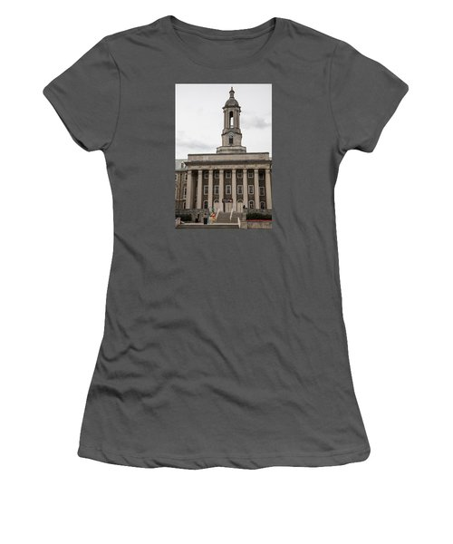 Old Main Penn State From Front  Women's T-Shirt (Junior Cut) by John McGraw