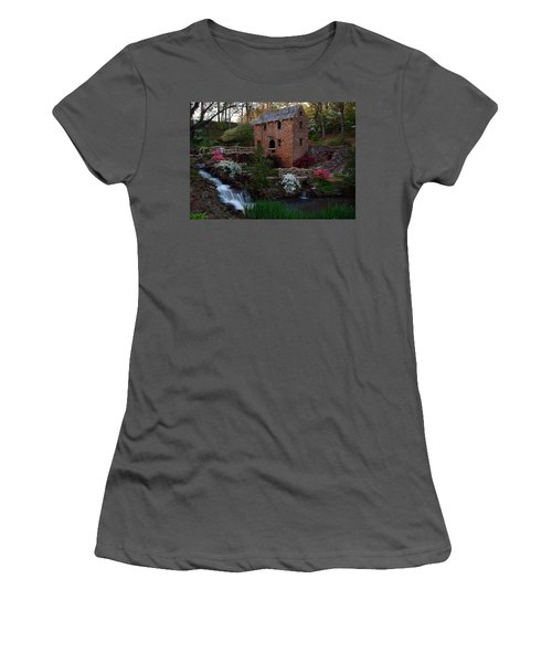 Women's T-Shirt (Junior Cut) featuring the photograph Old Mill by Renee Hardison
