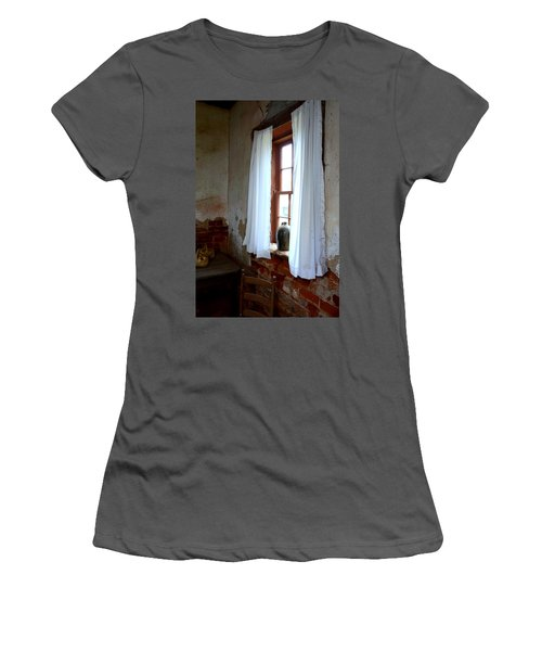 Old Time Window Women's T-Shirt (Athletic Fit)