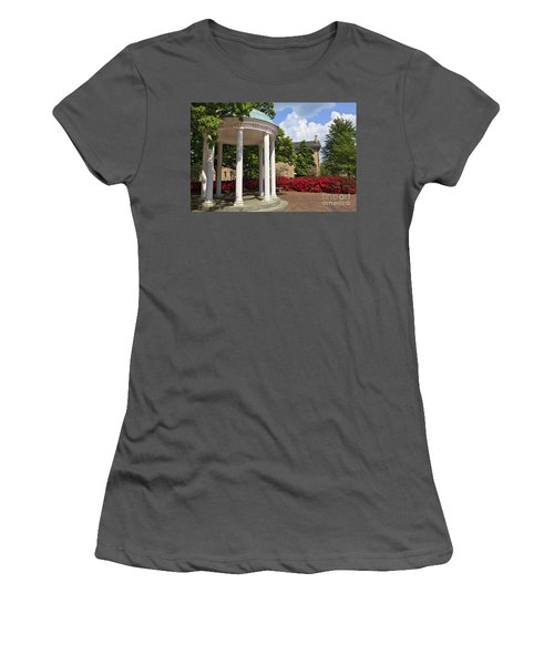 Old Well At Chapel Hill In Spring Women's T-Shirt (Athletic Fit)