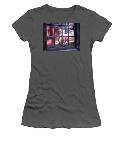 Olde Glass Women's T-Shirt (Junior Cut) by Betsy Zimmerli
