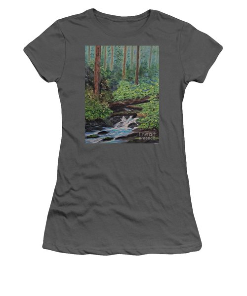 Olympic National Park Women's T-Shirt (Athletic Fit)