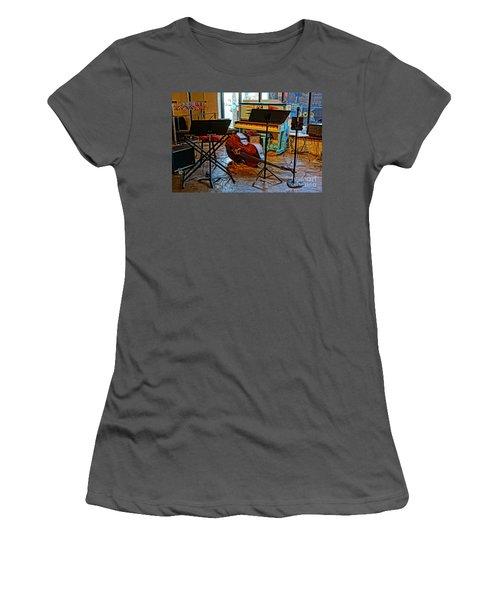 On Break Women's T-Shirt (Athletic Fit)
