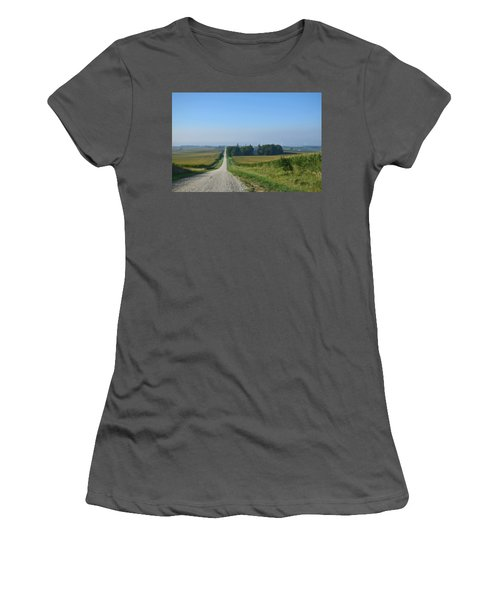 On The Road Again Women's T-Shirt (Athletic Fit)