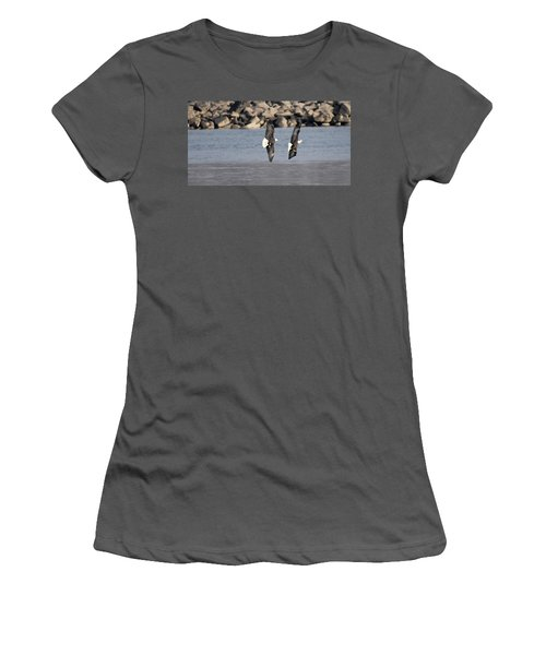 On Your Six Women's T-Shirt (Athletic Fit)