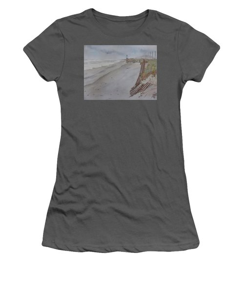 Once There Was A Lighthouse Women's T-Shirt (Athletic Fit)