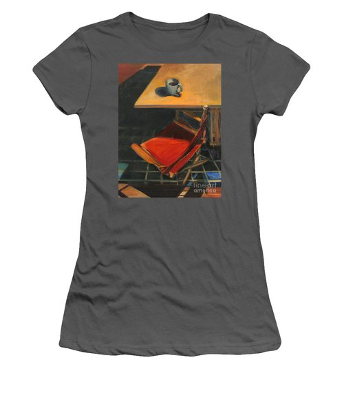 One Cup Women's T-Shirt (Junior Cut) by Daun Soden-Greene