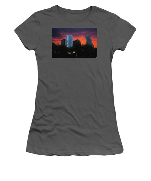 One New York Center-1 Women's T-Shirt (Athletic Fit)