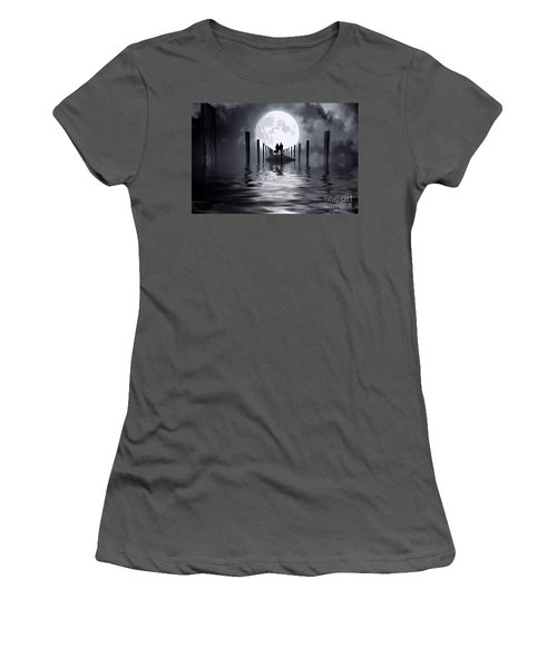 Only Us Women's T-Shirt (Junior Cut) by Mim White