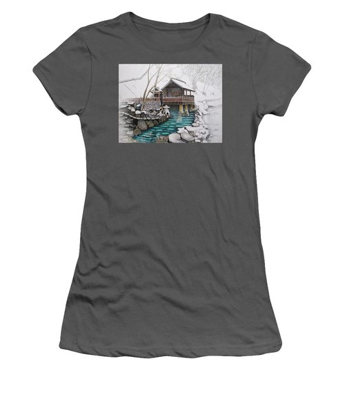 Onsen Women's T-Shirt (Athletic Fit)