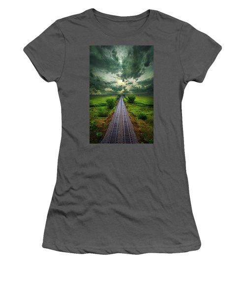 Onward Women's T-Shirt (Junior Cut) by Phil Koch