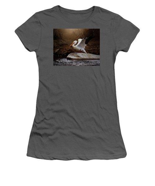Open Wings Women's T-Shirt (Athletic Fit)