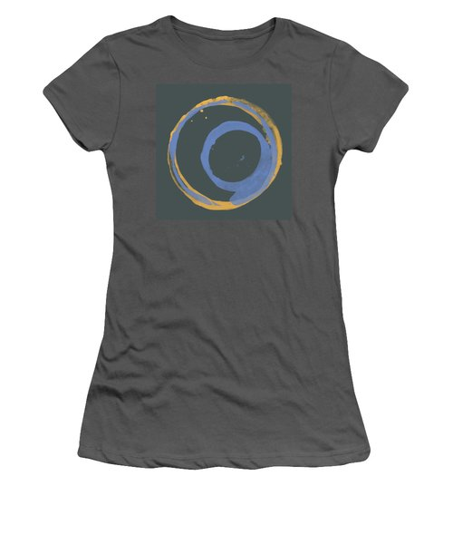 Orange And Blue 3 Women's T-Shirt (Athletic Fit)