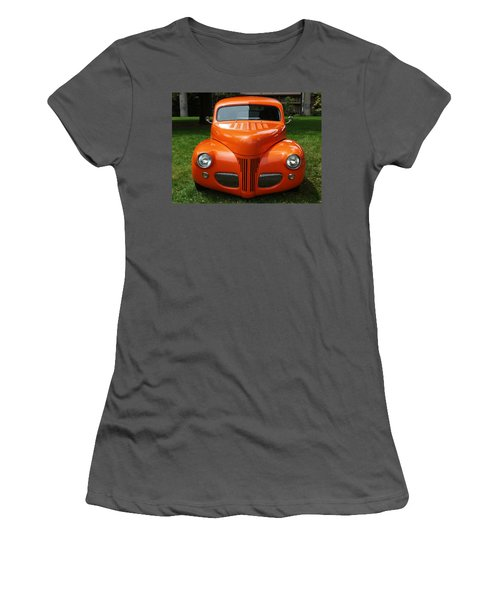Orange Classic  Women's T-Shirt (Athletic Fit)