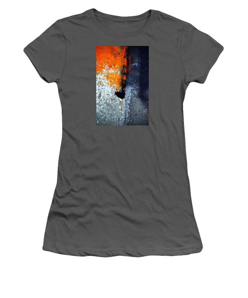 Orange Women's T-Shirt (Junior Cut) by Newel Hunter