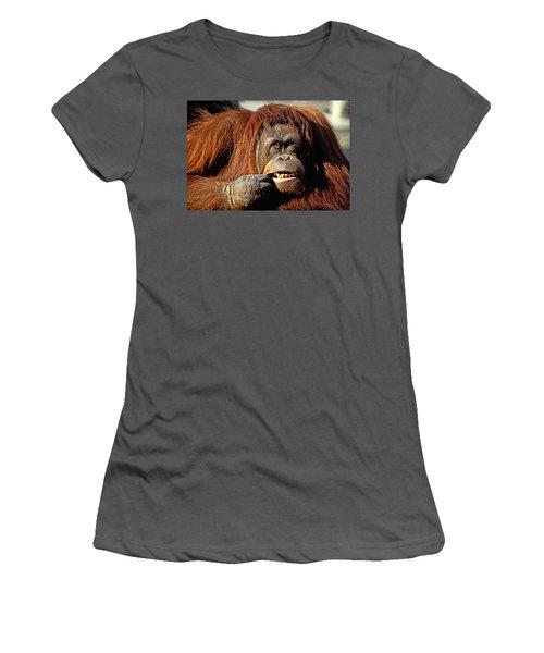 Orangutan  Women's T-Shirt (Athletic Fit)