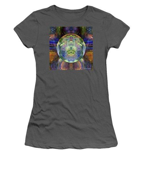 Orbital Symmetry Women's T-Shirt (Junior Cut) by Robin Moline