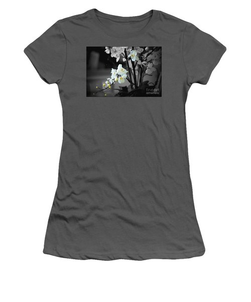 Orchid Selective Color Women's T-Shirt (Athletic Fit)