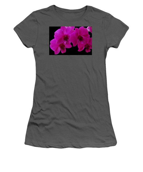 Orchid Song Women's T-Shirt (Athletic Fit)