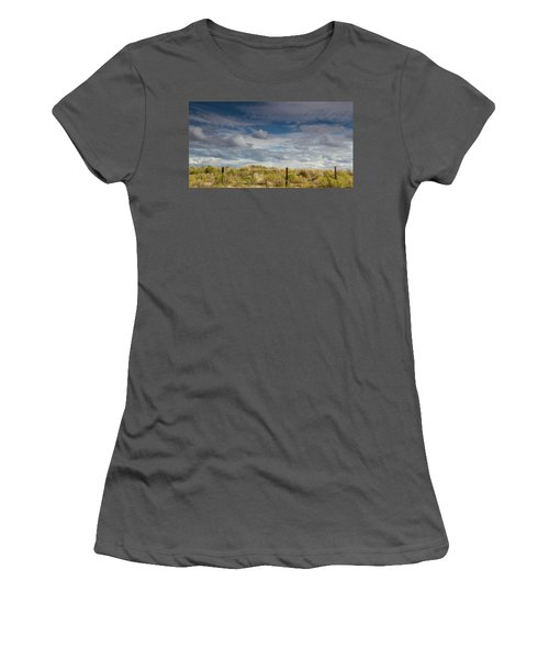 Oregon Clouds Women's T-Shirt (Athletic Fit)