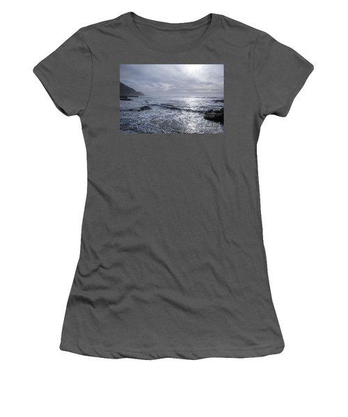 Oregon Coast Women's T-Shirt (Junior Cut) by Billie-Jo Miller