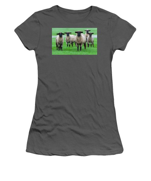 Family Photo Women's T-Shirt (Junior Cut) by Scott Warner