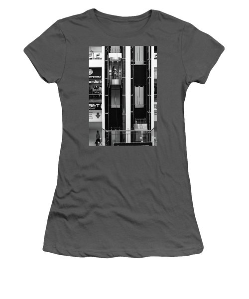 Women's T-Shirt (Athletic Fit) featuring the photograph Organics In The Machine by John Williams
