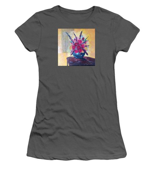 Oriental Arrangement Women's T-Shirt (Junior Cut) by Roxy Rich