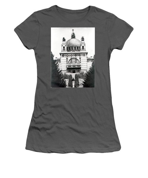 Ottowagners Church Women's T-Shirt (Athletic Fit)