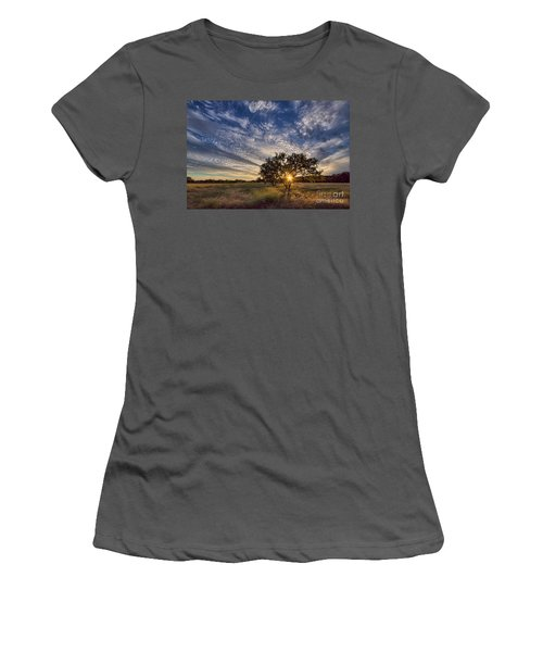 Our Backyard Women's T-Shirt (Athletic Fit)