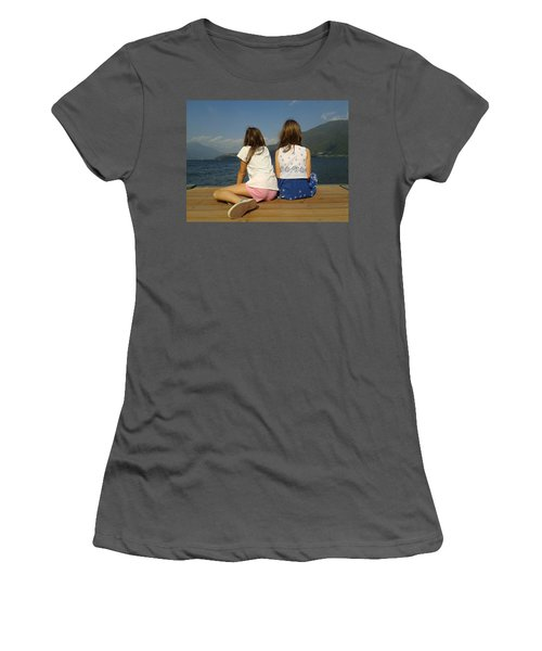 Our Wonderful Maty And Francy Women's T-Shirt (Athletic Fit)