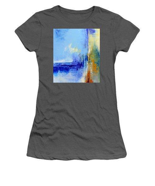 Out Of The Blue Women's T-Shirt (Junior Cut) by Tatiana Iliina