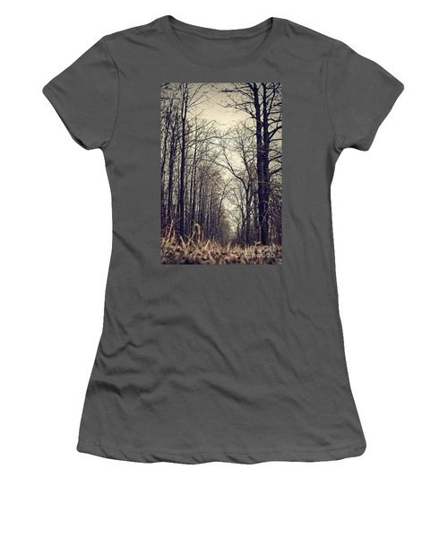 Out Of The Soil - Into The Forest Women's T-Shirt (Athletic Fit)