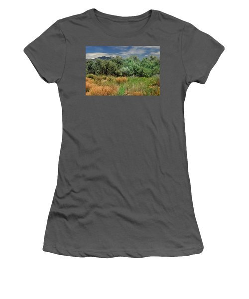 Out On The Mesa 1 Women's T-Shirt (Athletic Fit)