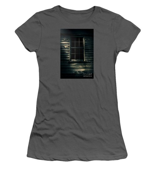 Women's T-Shirt (Athletic Fit) featuring the photograph Outback House Of Horrors by Jorgo Photography - Wall Art Gallery