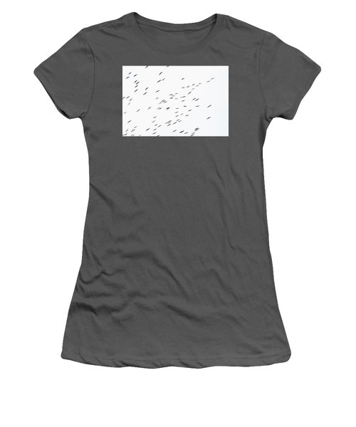 Overcast Women's T-Shirt (Athletic Fit)