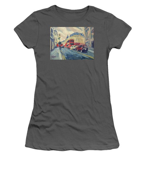 Oxford Street Women's T-Shirt (Athletic Fit)