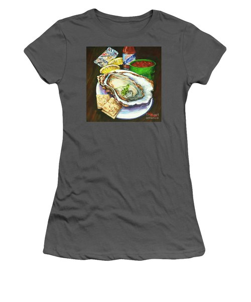 Oyster And Crystal Women's T-Shirt (Athletic Fit)