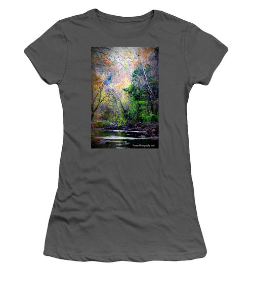 Ozarks Fall Women's T-Shirt (Athletic Fit)