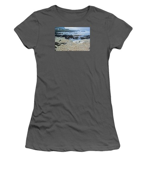 Women's T-Shirt (Junior Cut) featuring the photograph Pacific Gift by Dale Stillman